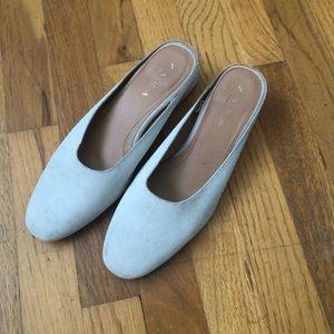 Zara round toe mules